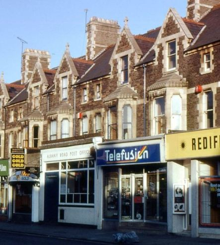 66 Albany Road probably in the 1980s