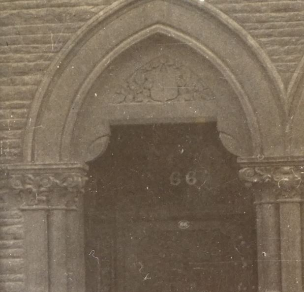 66 Albany Road, Roath, Cardiff, front door