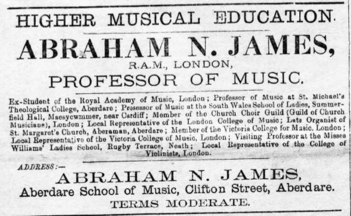 Aberdare Times 1896