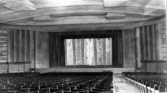 Splott Cinema, Cardiff - interior
