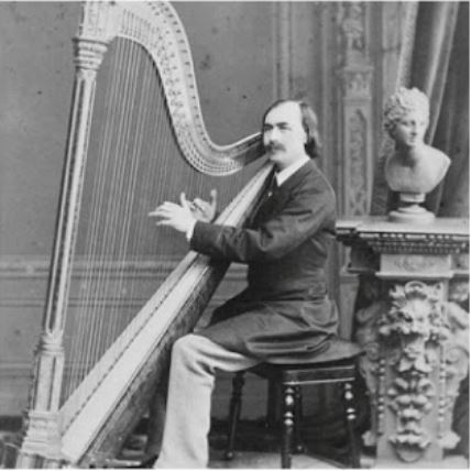 John Thomas harpist Pencerdd Gwalia