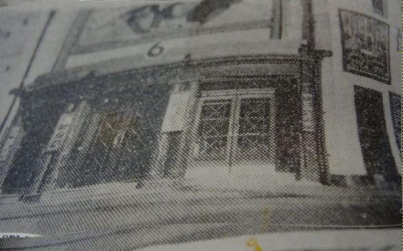 Spott CInema, Cardiff, original exterior