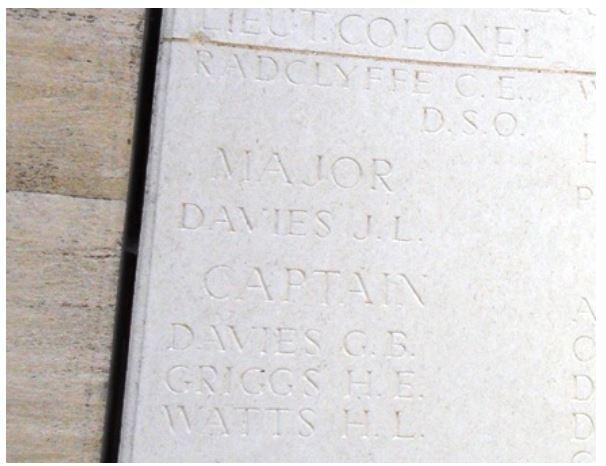 Trinity College War Memorial