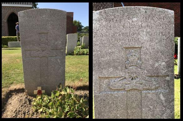 Harold Morgan grave