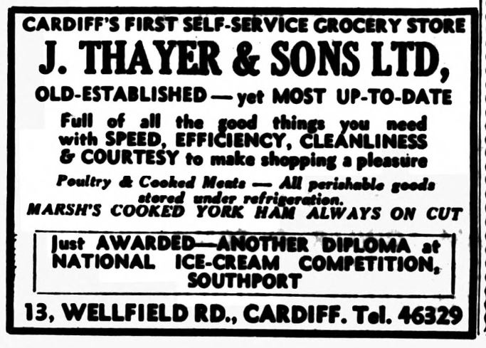 October 1955 Western Mail