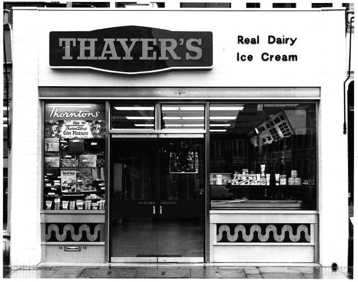 Thayers newer shop, Wellfield Road, Cardiff  - photo from John Thayer