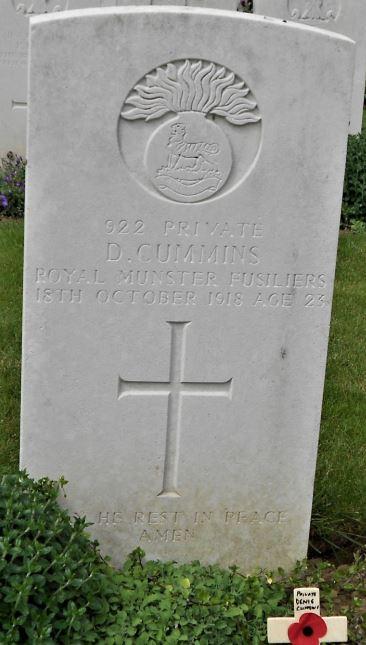 Denis Cummings memorial