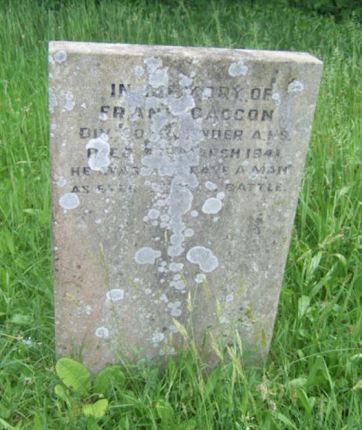 Gravestone at Cathays Cemetery