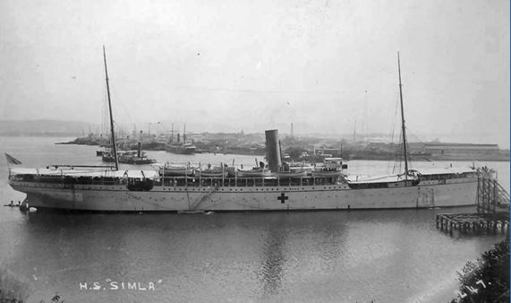 Hospital ship Simla