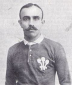 Norman Biggs in Wales jersey