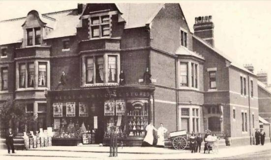 Reese and Gwillim, Penylan Road, Cardiff where William Adams worked