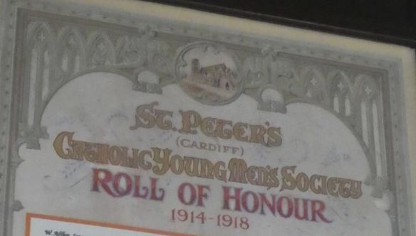 St Peter's Roll of Honour
