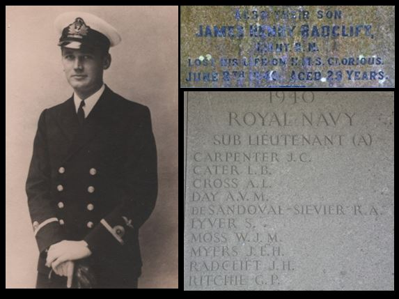 James Henry Radclift HMS Glorious