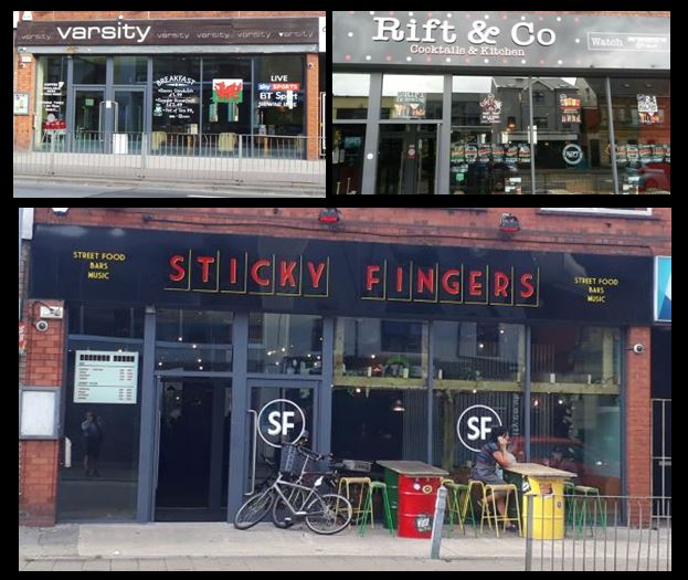 Sticky Fingers, Richmond Road, Cardiff