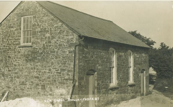 The old chapel at Bwlchyfadfa