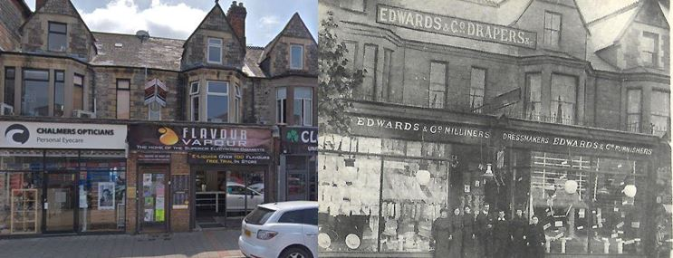 34 Albany Road Now and then