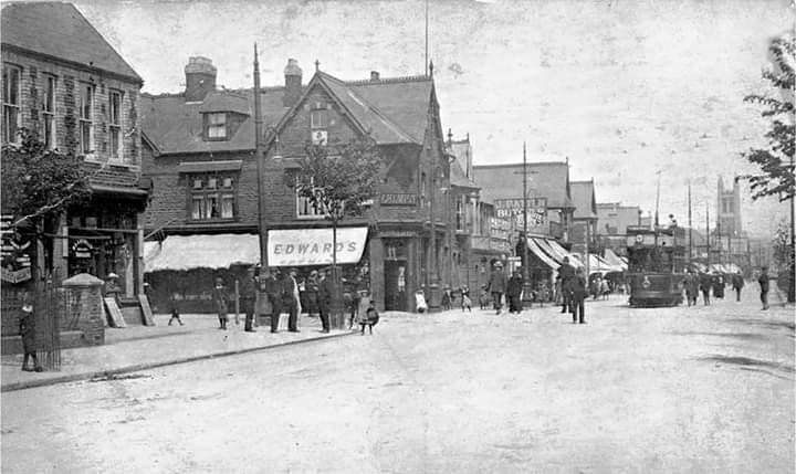 The beginning of Albany Road, Roath, Cardiff