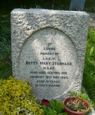 Betty Stannard Grave