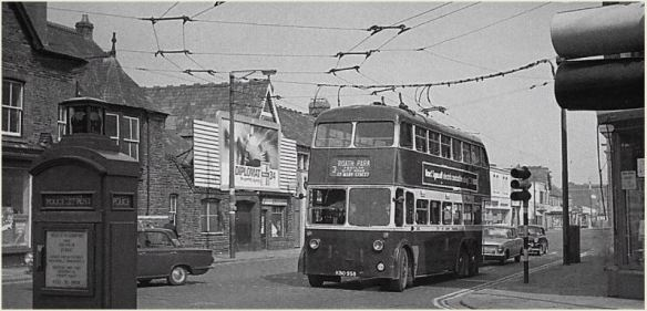 Corner of Albany Road and City Road in 1960s