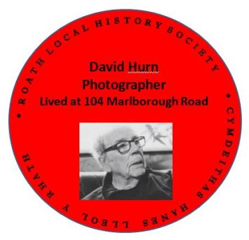 David Hurn Red Plaque