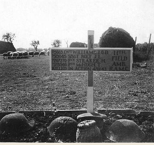 Grave of Jansen Oswald David Williams