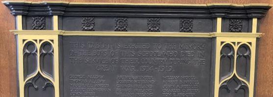 Grove Academy War Memorial, Dundee