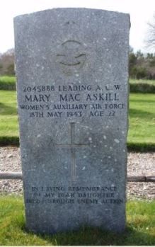 Mary MacAskill grave headstone