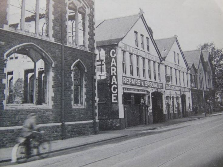 Solly Andrews Garage, CIty Road