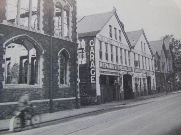 Solly Andrews Garage, CIty Road
