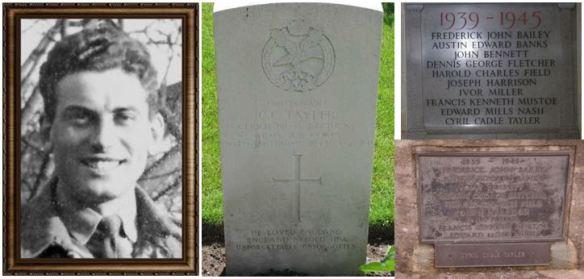 Cyril Cadle Tayler and memorials