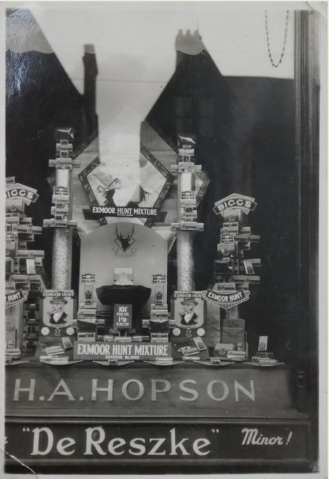 H A Hopson shop display