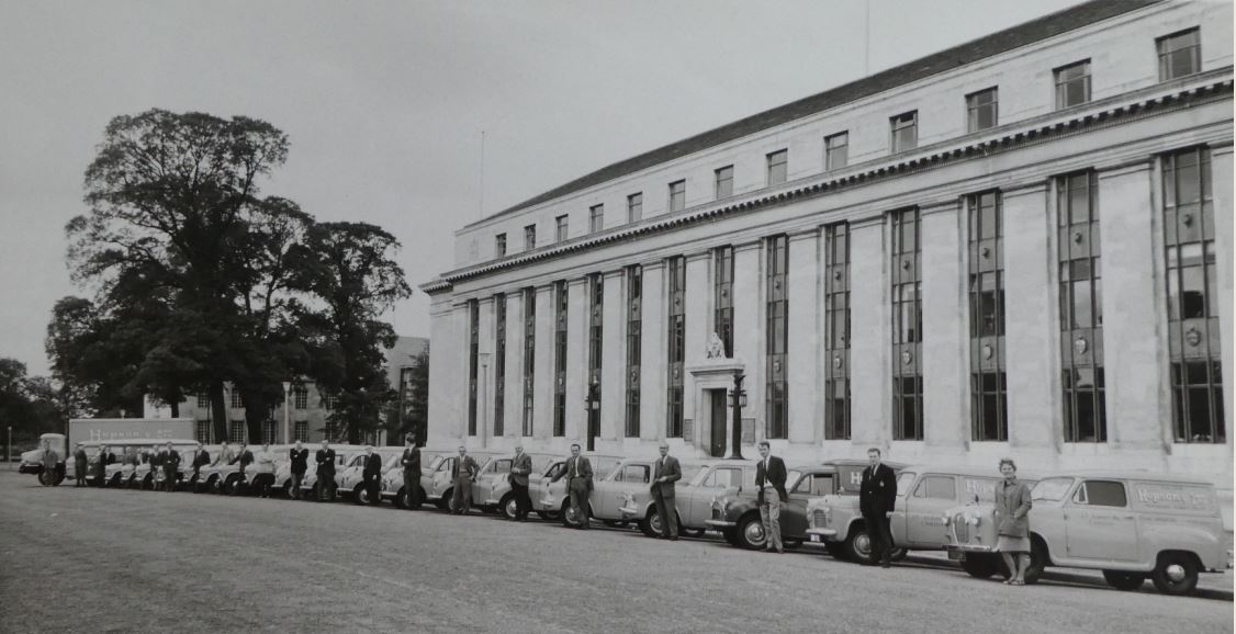Hopson fleet in Cathays Park