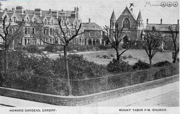 Howard Gardens and Mount Tabor church