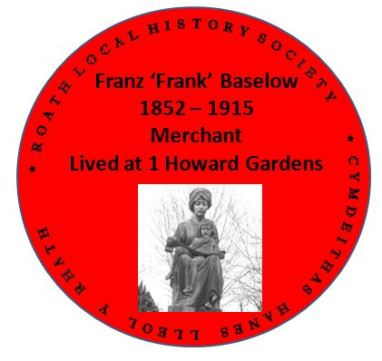 Frank Baselow red plaque