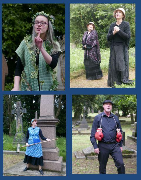 Graveyard voices