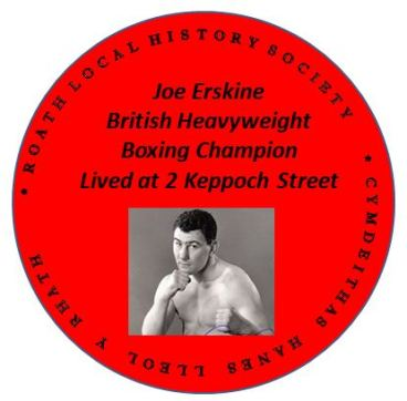 Joe Erskine plaque