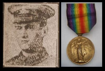 Reginald Bibbings portrait and medal