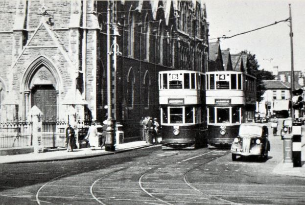 Start of City Road at Newport Road junction