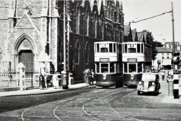 Start of City Road at Newport Road junction