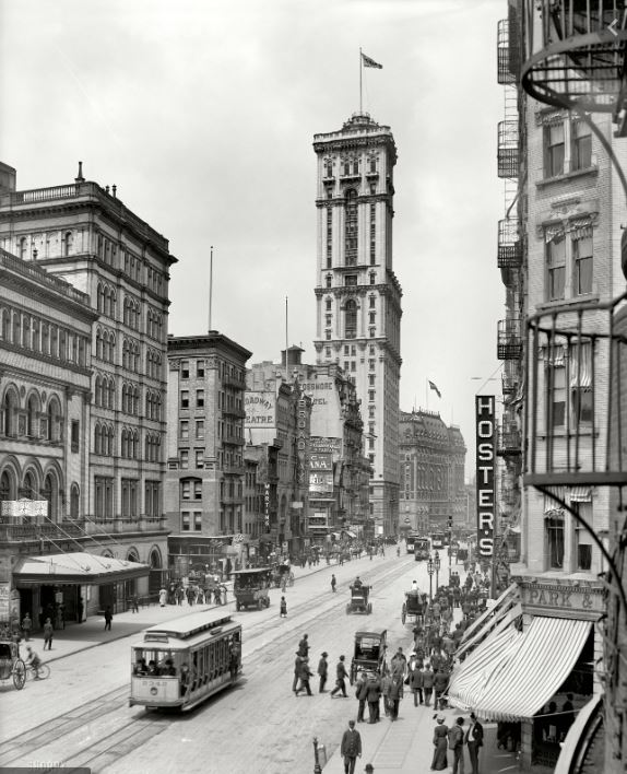Times Square, as it used to look