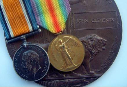 John Clements medals