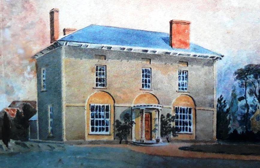 Roath Court in 1800s