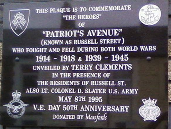 Russell Street memorial