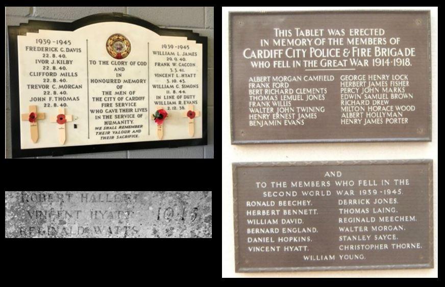 Vincent Hyatt memorials