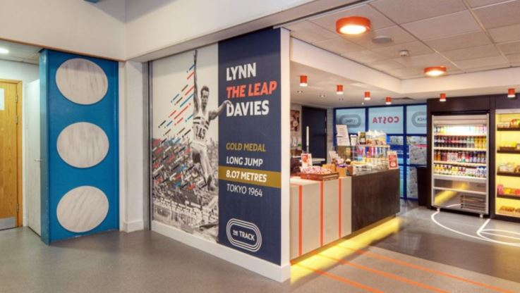 Cardiff Met Cyncoed campus Lynn Davies Photo credit - Peter Creighton
