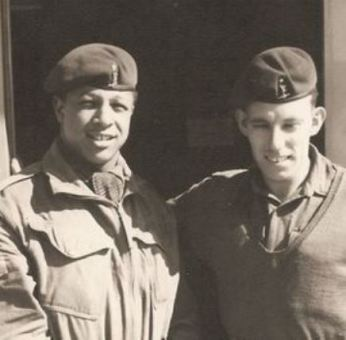 Clive Sullivan serving in Cyprus