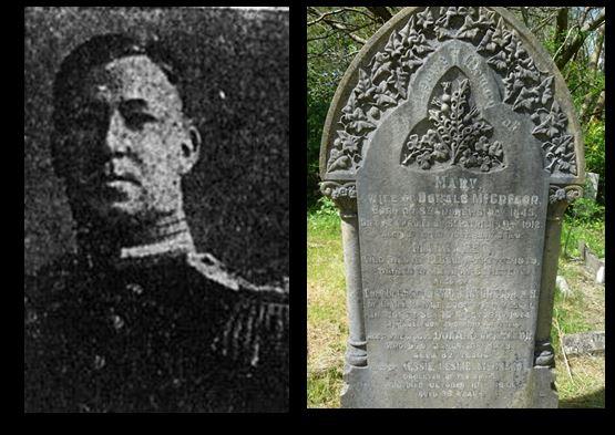 David John McGregor and headstone