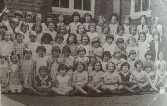 Roath Park Girls School Bernice Rubins second row fourth from left