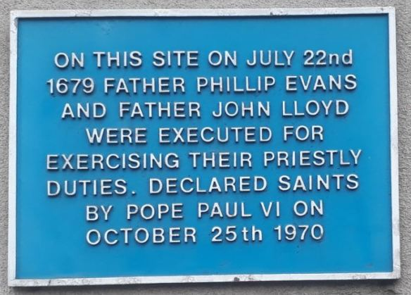1679 Father Phillip Evans and Father John Lloyd executions