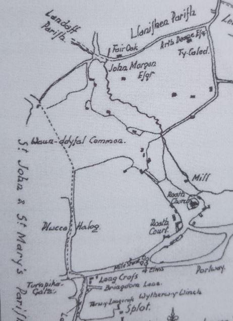 1789 Plwcca Lane, Roath, Cardiff map